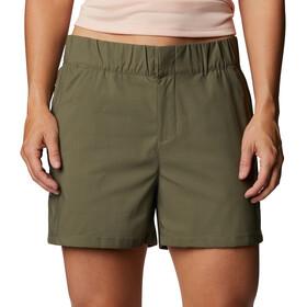 Columbia Firwood Camp II Pantalones Cortos Mujer, stone green